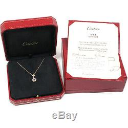 Cartier Rose Quartz Pendant Necklace Indian Mysteriouss Pink Gold (18K) Pink Go