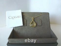 Clogau Gold, 9ct Yellow & Rose Gold Rutilated Quartz Pendant, 22 Chain RRP £850