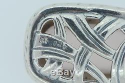 David Yurman (c), Sterling Silver, Rose Quartz and 38 Diamond Enhancer Pendant