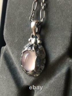 Georg Jensen 1997 reprint Year Pendant Necklace Silver 925S Women Denmark New