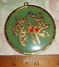 Hobe Jade Opal Tigers Eye Rose Quartz Carnelian Glass Pendant Chain Sale Buy Now