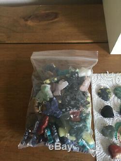 Job Lot Bundle Gemstone Pendants £1 per gemstone 400 pendants