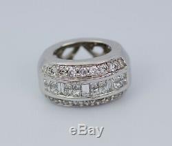 Le Vian 14k Vanilla Gold Baguette Princess And Round Diamond Pendant