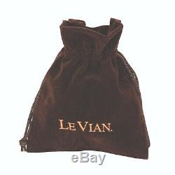 Le Vian Pendant Rose Quartz, Black Diamonds, Vanilla Diamonds 14K Rose Gold