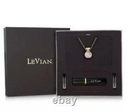 NEW Le Vian Rose Quartz Perfume Jewelry Bottle Pendant Necklace MSRP$500