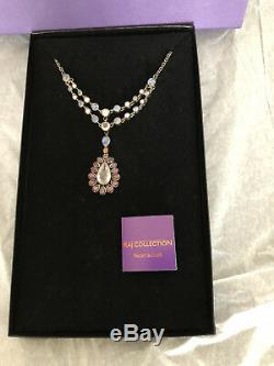 NICKY BUTLER RAJ COLLECTION 17.3ct Multi-gemstone Sterling Silver Necklace NWOT