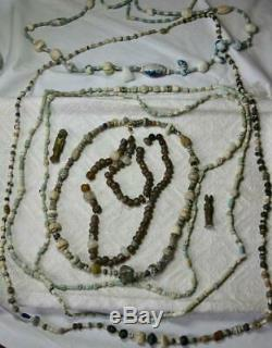 Rare Art Deco Flower Necklace Antique Chinese Rose Quartz Sterling Silver c1920