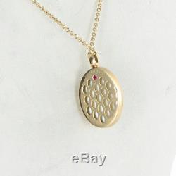 Roberto Coin Cocktail Diamond Necklace 0.35cts Smokey Quartz 18K Rose Gold $4700