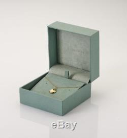 Rose gold, smoky quartz pendant incliuding adjustable 41-46cm/16-18 Venetian