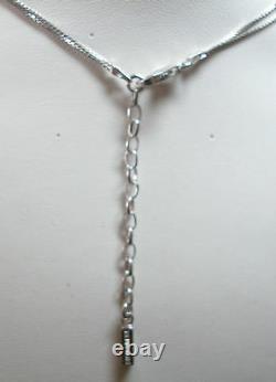 Sterling Silver Nuovegioie Italian Designer Necklace
