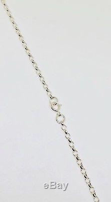 Sterling Silver Pendant & Chain, Large Oval Cut Rose Quartz, Mesh Setting
