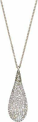 Swarovski Abstract Nude Rose Gold Size 17 inches Pendant Necklace 1345628
