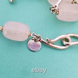 Tiffany & Co. Rose Quartz Pendant Necklace tf1675