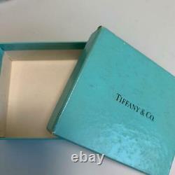 Tiffany & Co. Rose Quartz Silver Heart Chain Pendant Necklace m90035081907 withBox