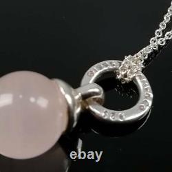 Tiffany & Co. Stone ball Pendant Necklace tf2966