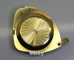 Vintage Bulova Accutron 14K Gold Pendant Date Watch 43 grams Grade 218D